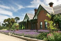 Historic Homestead @ Cleveland Winery / A gothic revival manor house featuring 6 suites, each with its own ensuite with shower and bath. It has a private lounge with TV and DVD player, dining room and a private bi lliard room.