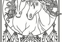 Malebog heste