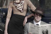 Bonnie & Clyde Theme Shoot