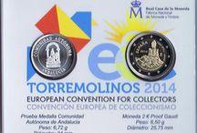 Monedas 2 euros España