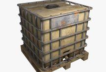 1 неделя - контейнер
