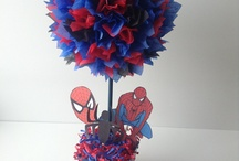 Spiderman birthday / by Kayla Randall