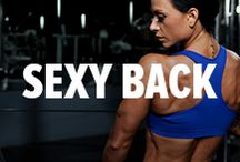 Sexy Back Workouts / Your back is an essential piece of a balanced, symmetrical physique. Start building yours today! / by Bodybuilding.com