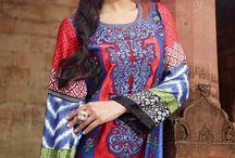 Pakistani Salwar Kameez MUS101 / Elegant Long Pakistani Salwar Kameez