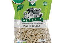 Buy Online 24 Mantra Organic Chick Peas / Kabuli Chana / Garbanzos