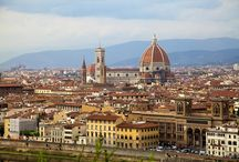 My Favorite Places! / View of Florence Italy from the Piazzale Michelangelo - Absolutely Magical!
