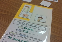 Preschool sentence building / by Naomi Ogao