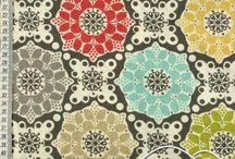Fabrics / Boho, floral, beautiful fabrics