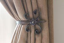 Sujetadores de cortinas