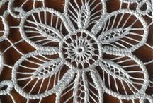 Lace and needle work