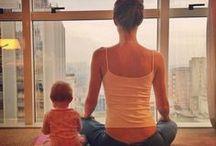 Mes P'tits Yogis ! / Jouez au yoga avec votre enfant !  #yogaenfant #yogabébé #mamanzen