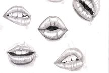 dibujo bocas