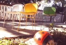 Cadeiras Bertoia Pintada Epoxi