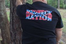 Redneck Nation Shirts / We wanted to create a clothing line to bring not only the outdoor, off-road culture to the masses but to also deliver cutting edge designs and the highest quality of apparel while celebrating our heritage.