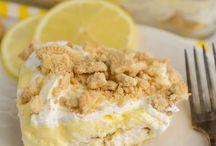 Dessert / No bake lemon cake