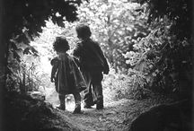 23. W Eugene Smith- Ph His own children going to light