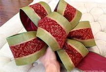 making bows / by Dorcas Maynard