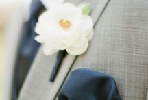 Buttonholes / An endless wealth of floral ideas to keep your Mr happy