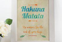 Typography Prints