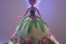 torta en forma princesa