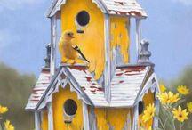 Madaraknak is legyen házuk :) Birdhouse :)