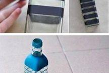 słoiki butelki puszki