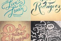 Typography / by Tati Cavalcanti