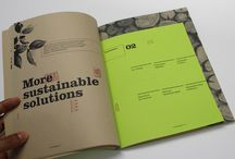 Sustainability reports design