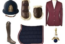 Show outfits / Equestrian show outfits inspiration