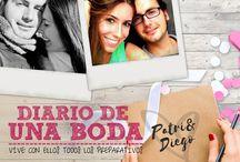 Diario de una boda 2016 / Patricia y Diego se casan en septiembre de 2016 en Zaragoza. Vamos a vivir con ellos los preparativos de su boda.  Si te vas a casar, ¡no te pierdas su historia!