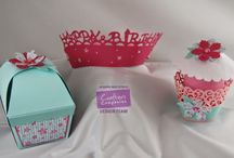 Die'sire Cupcake Wrappers & Toppers