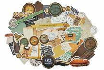 """Kit de scrap """"Story Book"""" / Kit de scrapbooking avec les feuilles de la collection Story Book de Kaiser craft"""