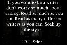 Quotes on Horror & Writing