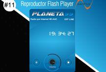 Reproductor Flash Player AACPlus #11 / Flash Player AACPlus #11 Premium <CODE ORIGINAL> Diseño Planeta99 Para su Pagina Web de Radio en formato HE-AACPlus. Alta Fidelidad. www.surdatanet.net - www.moqueguahost.com - www.surdatacenter.com