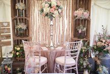 Wedding fair stands