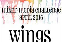 HLS April 2016 Mixed Media Challenge