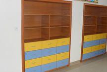 Meble szkolne Nowy Sącz / Meble szkolne wykonane przez firmę Dobosz - Produkcja Mebli.