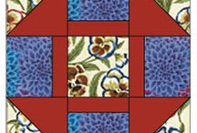 bright colored quilts / by Nancy Friesen