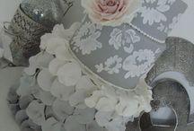 Grey / Silver /  Black Cakes