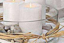 świeczki w szkle