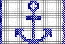 cross stitch tatto