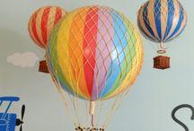 Воздушные шары из абажуров