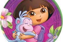 Party Theme - Dora the Explorer