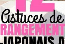 Astuces rangements