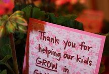Teacher Appreciation Ideas / by Kellie Lunsford