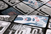 Artsy business cards & package design / Artsy business cards