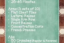 Daily workout plans / by Raven Alexander