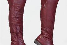 Overtheknee / Flat heels only