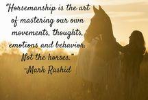 Horsemanship quotes