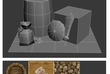 3d Low poly modeling